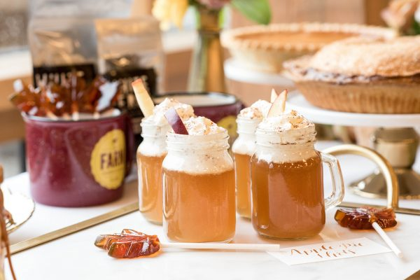 Cider drinks for wedding