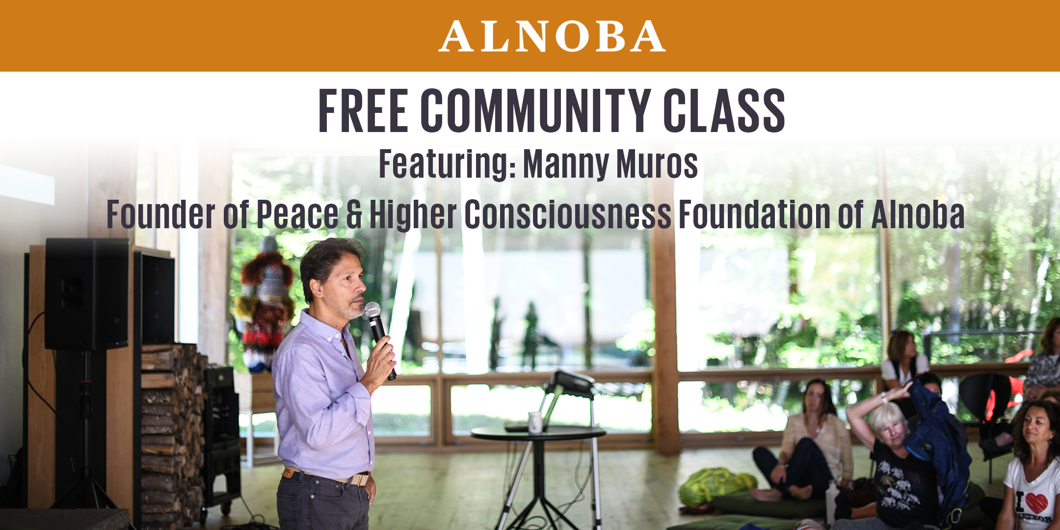 November Free Community Class with Manny Muros