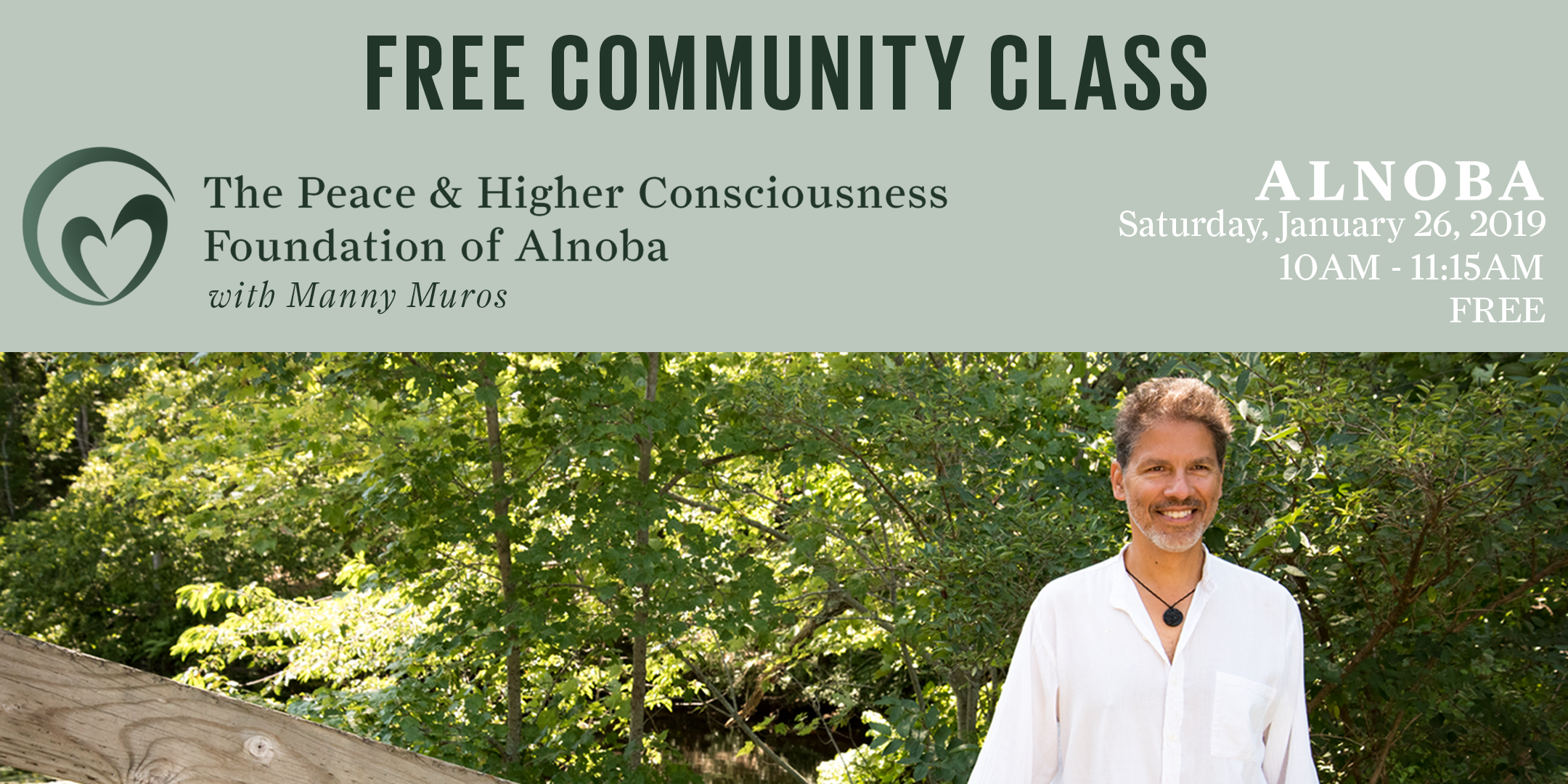 FREE Community Class with Manny Muros