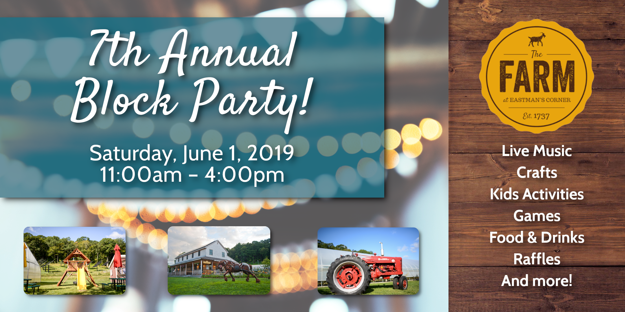 The Farm's 7th Annual Block Party